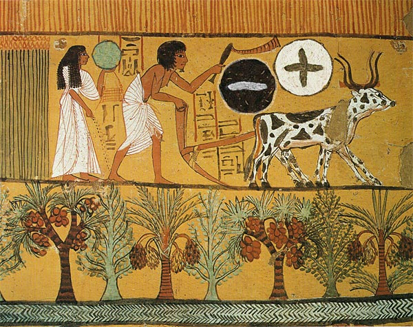 The ancient Egyptians predict the coming of collider...